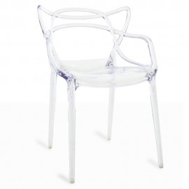 Inspiratie Transparante Masters-stoel van de veelgeprezen ontwerper Phillipe Starck