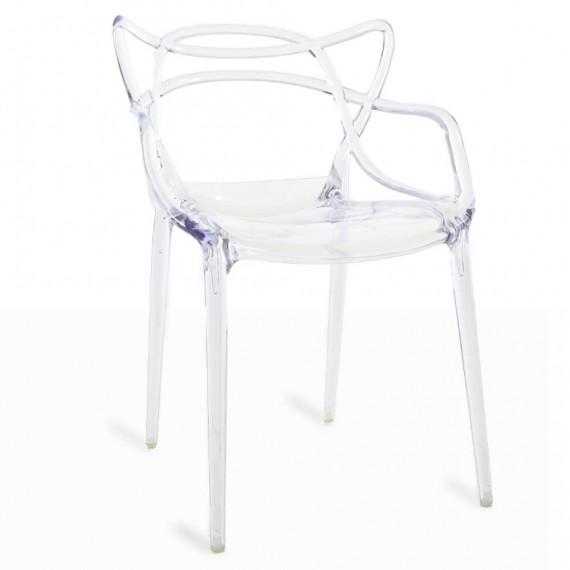 Inspiration transparenter Masters Stuhl von dem renommierten Designer Philippe Starck