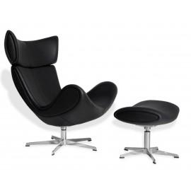 Imola-tuolin muotoiltu nojatuolin kopio