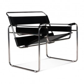 Replik des Wassilly Chair Design Stuhls aus Leder