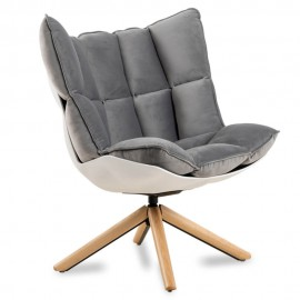 Replika designerskiego fotela Husk autorstwa wspaniałej projektantki Patricii Urquiola