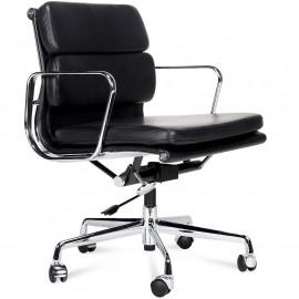 Krzesło Biurowe Soft Pad Wykonane ze skóry licowej