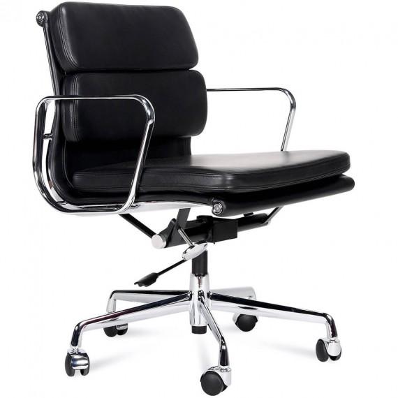 Replika miękkiej podkładki na krzesło EA217 firmy <span class='notranslate' data-dgexclude>Charles & Ray Eames</span> .