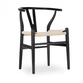 Replica Wishbone Chair aus farbigem Holz von Hans J. Wegner