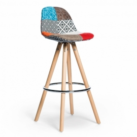 Hocker Poland Patchwork