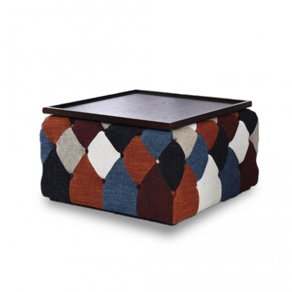 Chesterfield Patchwork Nordic Style Couchtisch