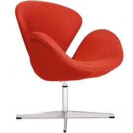 Replik des Swan Chair aus Kaschmir von Arne Jacobsen