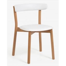 Krzesło skandynawskie Oslo z drewna bukowego