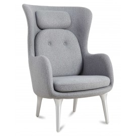 Replica Ro Back fauteuil in kasjmier door ontwerper Jaime Hayón