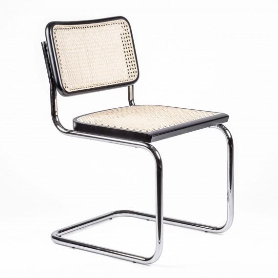 Replika Chaise Cesca avec accoudoirs du designer Marcel Breuer