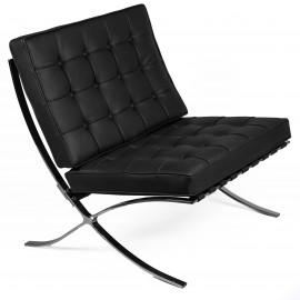Barcelona fauteuil gemaakt van synthetisch leer