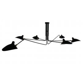 Inspiration von der Mouille Pendant 6 Arms Lampe