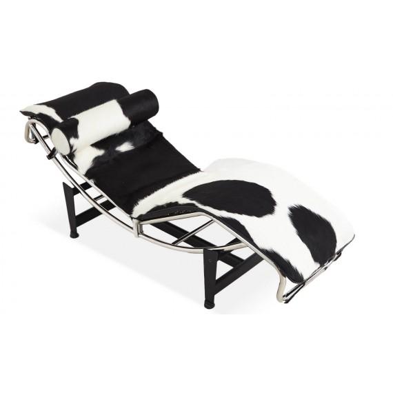 Chaise Lounge LC4 Replik aus Ponyleder
