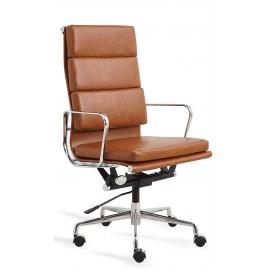 Replica Soft Pad EA219 Bürostuhl aus abgenutztem Kunstleder