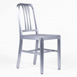 """Navy Army chair"" Replica in aluminium"