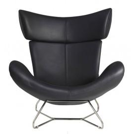 Replika fotela Imola Design z włoskiej skóry