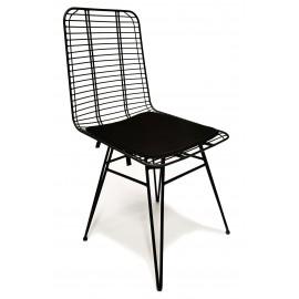 Krzesło metalowe Yosemite odpowiednie na zewnątrz