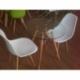 Skleněný stylový stůl furmod Eames (70 cm)