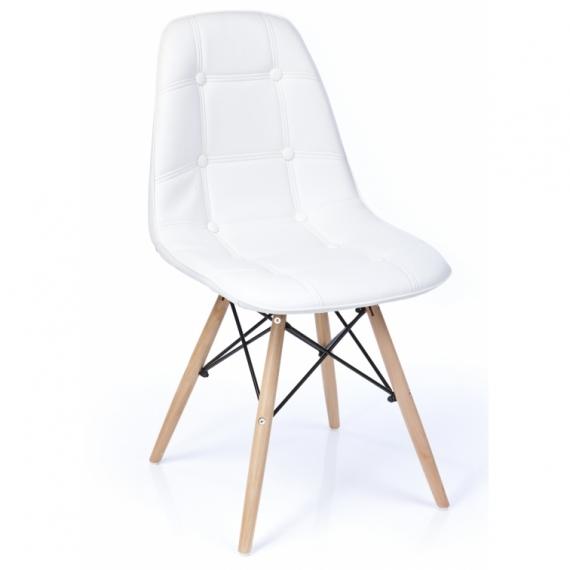 Stuhl Lemans Bezogen - Iconmöbel