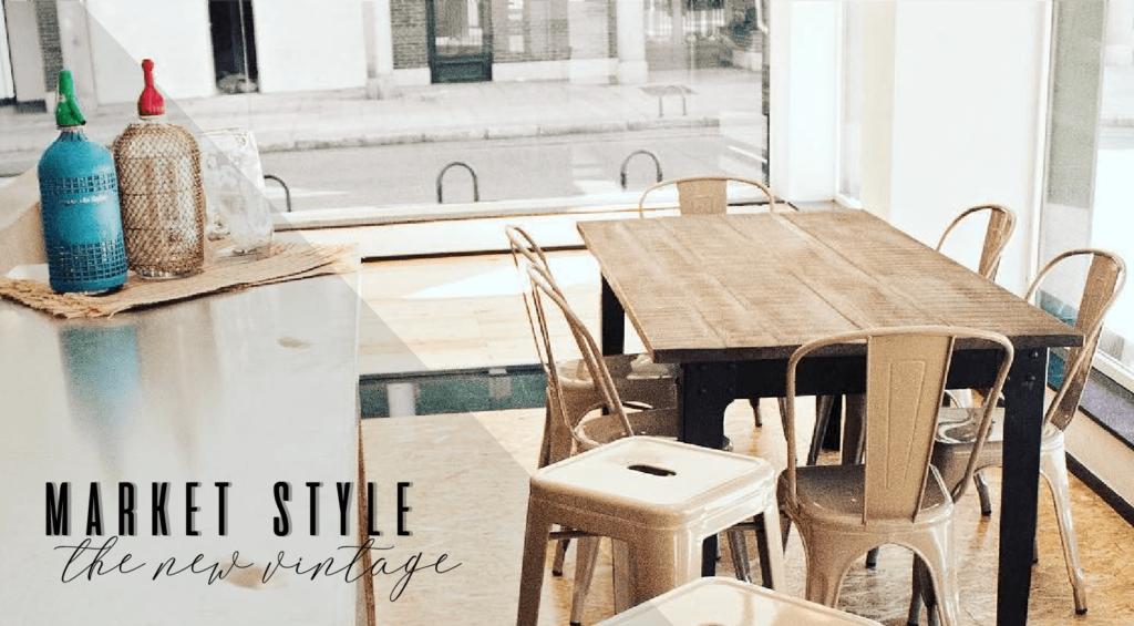 Market-Style: der neue Vintage, der in Mode ist
