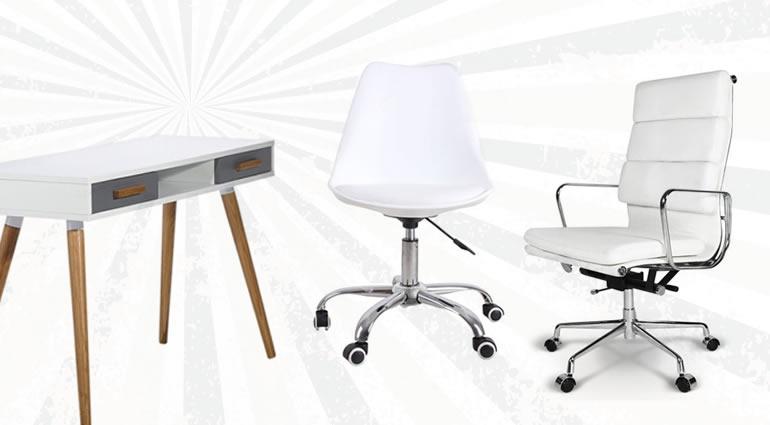 Emotional gestaltete Bürostuhl- und Tischkombinationen