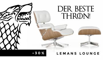 Der begehrteste Stuhl, auf dem jeder sitzen möchte: Lemans Lounge Chair