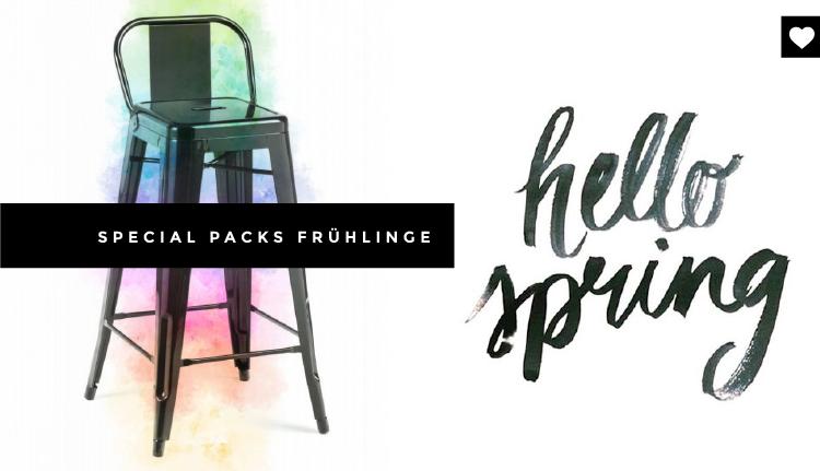 Der Frühling der Neuheiten! Neue Möbelpacks von Icon Möbel